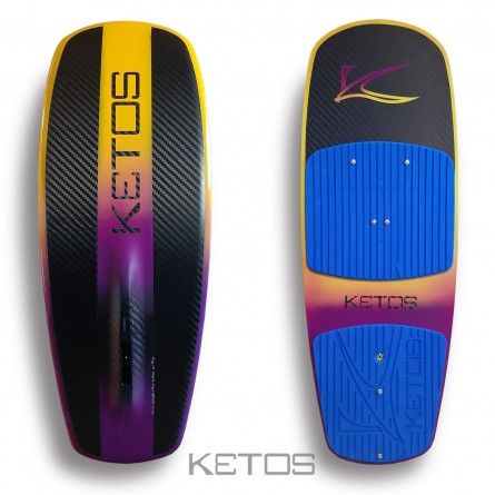 Purple&Yellow - blue pad (without central pad)