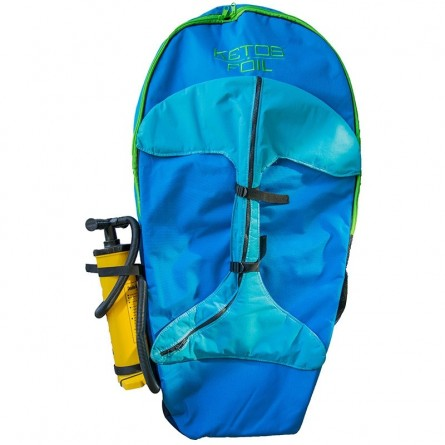 ketos boardbag double pocket & foil