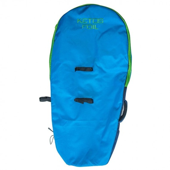 ketos boardbag double pocket & foil, dos et bretelles