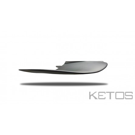 front wing wave XL side view